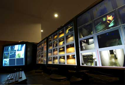 Easily monitor large facilities from one control room with a Pelco Security System from Mason & Barry