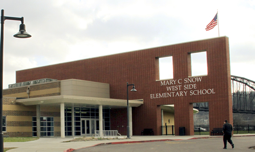 Mary C. Snow Westside Elementary is West Virginia's first fully integrated school.